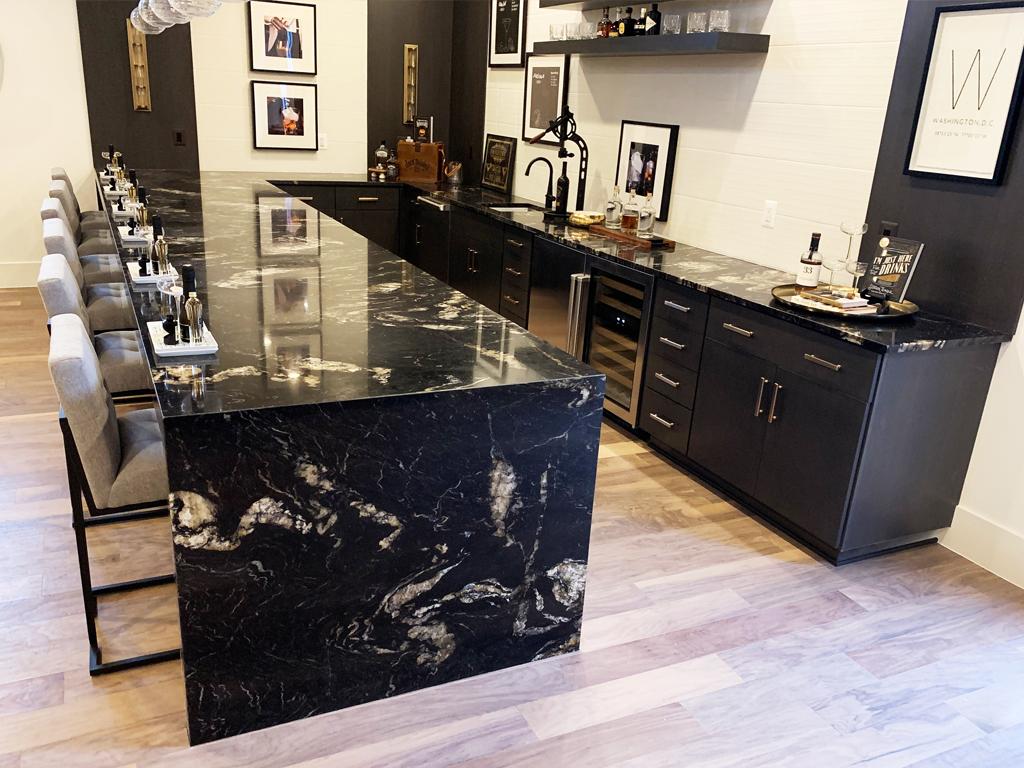 Titanium Granite - Granite Countertops   Quartz ... on Backsplash:gjexfbx4_Ly= Black Granite Countertops  id=89173