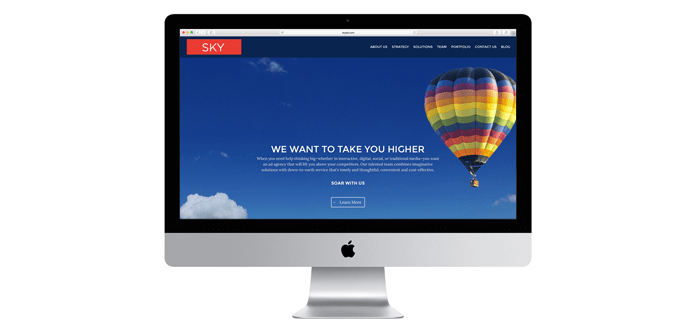 Sky Launches New Website Design & Blog