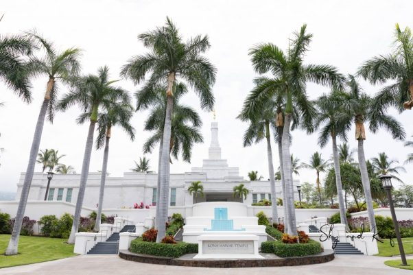 LDS temple Big Island Wedding Venue