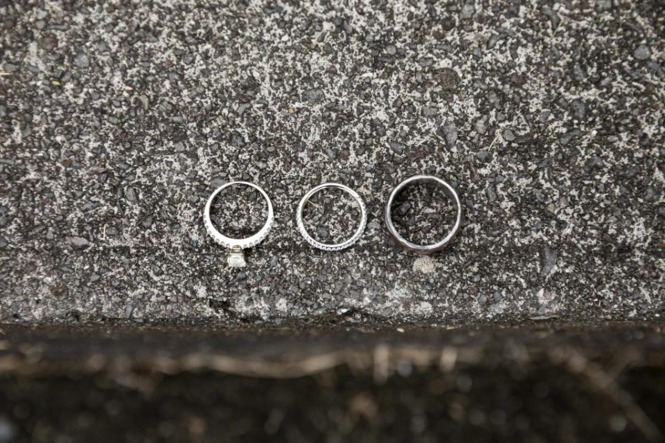 three rings in a row