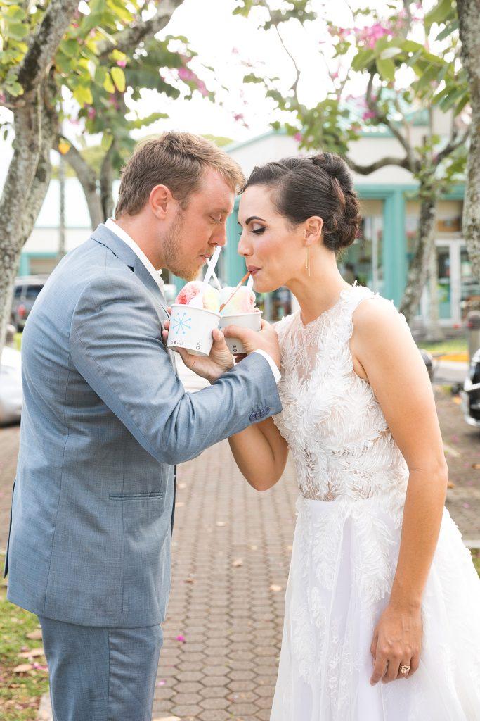 shaved ice wedding tradtion