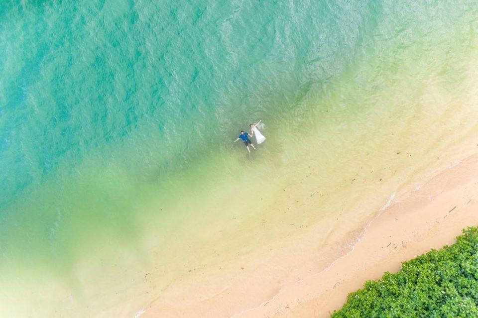 hawaii drone photos