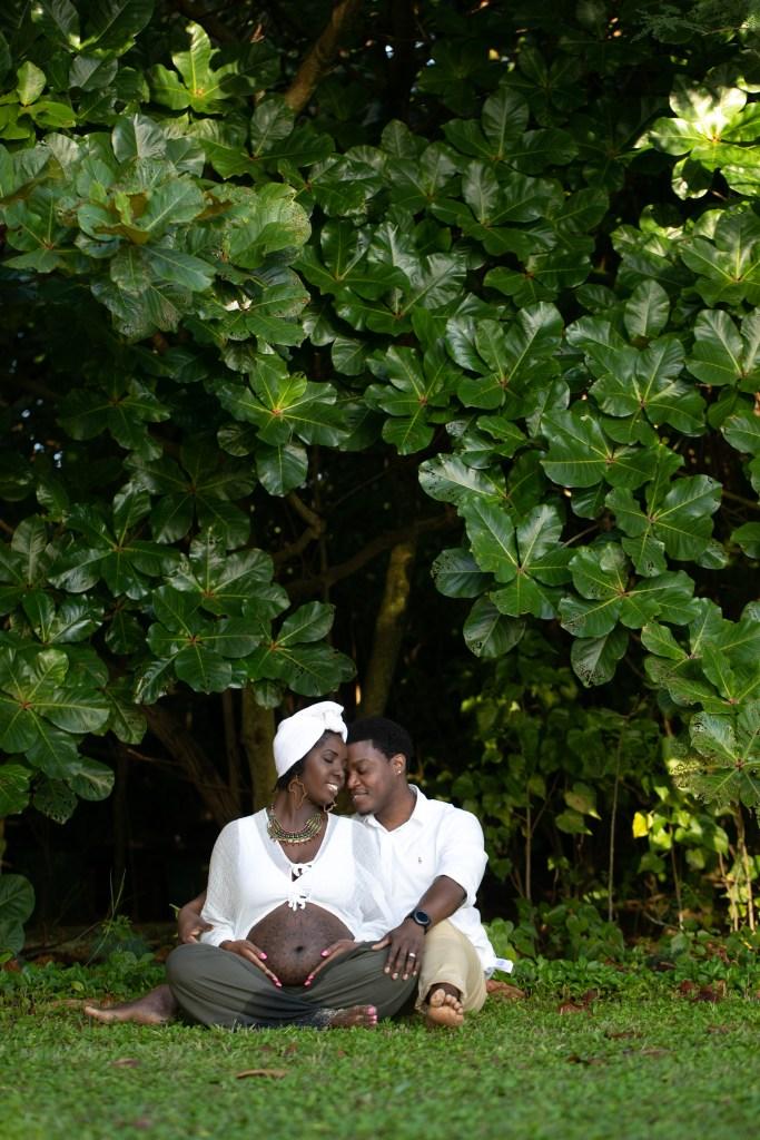 maternity kualoa photography