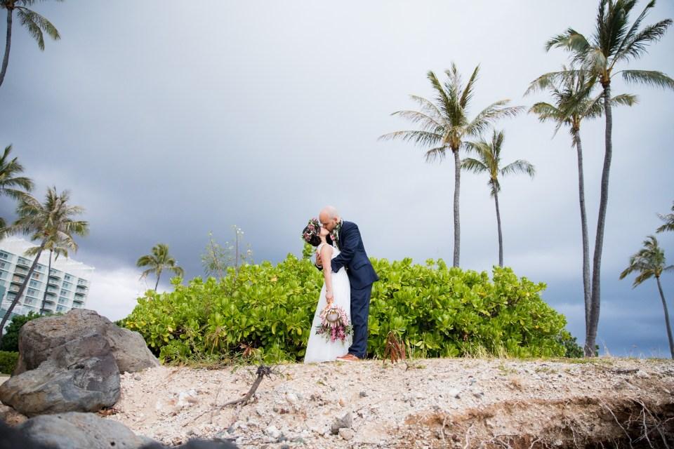 Waialae Beach Wedding Photographer