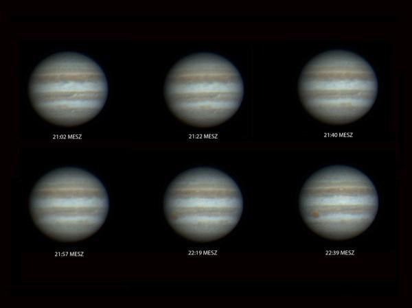 Jupiter Rotation 19052017 Sky Telescope