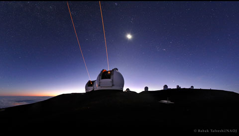 Keck Telescopes