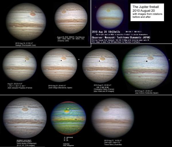 Another Flash on Jupiter Sky Telescope