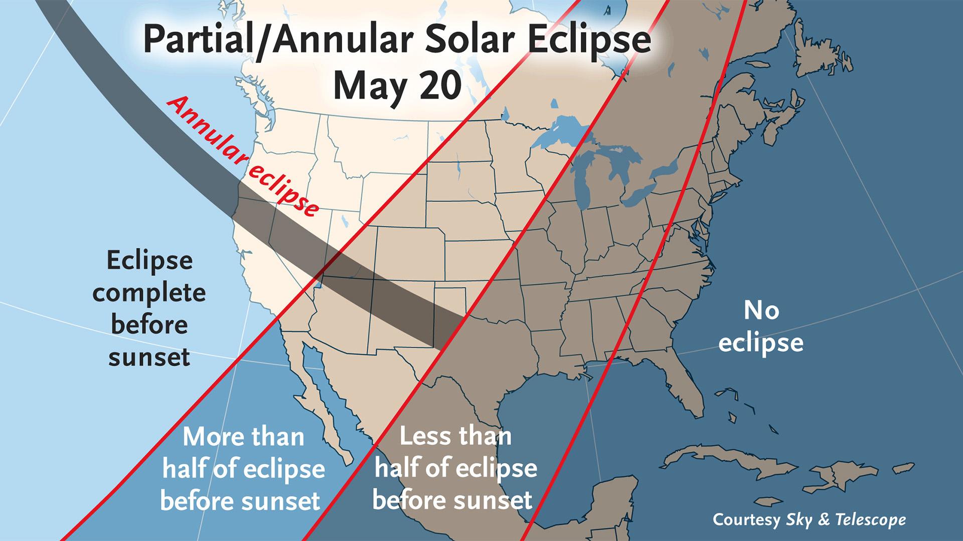 California Sets Map Sun