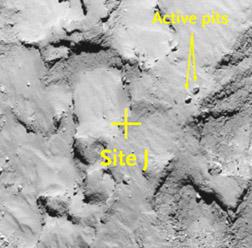 Where Will Philae Land on Comet 67P? - Sky & Telescope