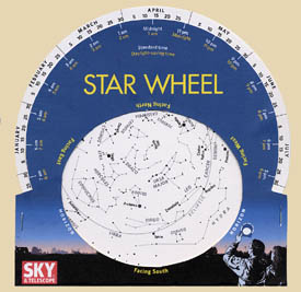 How to Make A Star Wheel and Observe the Night Sky Sky