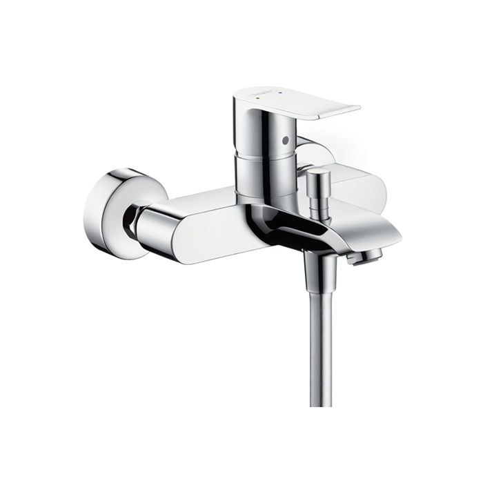 hansgrohe metris bath tub fitting 31480000 surface mounted chrome