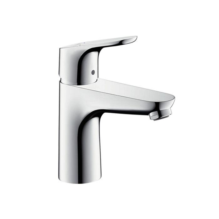 hansgrohe focus 100 basin mixer 31607000 pop up waste chrome