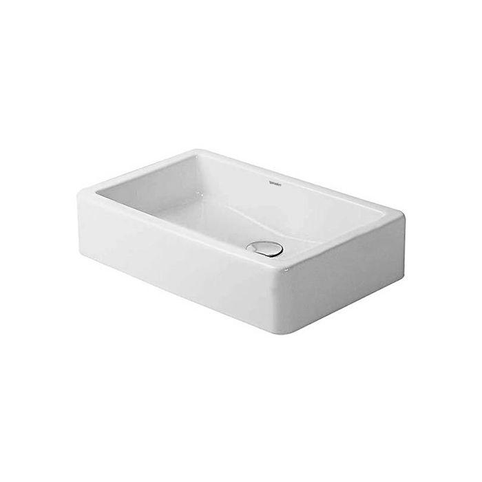 duravit vasque a poser vero 04556000001 60 x 38 cm blanc avec wondergliss poli
