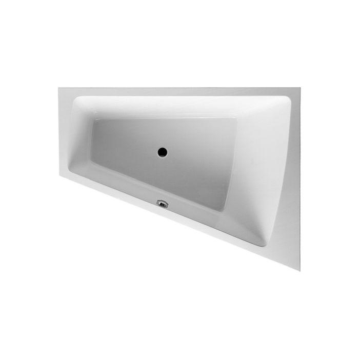 duravit baignoire paiova 170 x 130 cm blanc coin droit