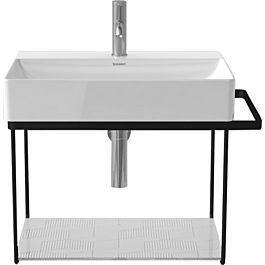 duravit durasquare metal console 0031021000 wall mounted for washbasin 235360 chrome