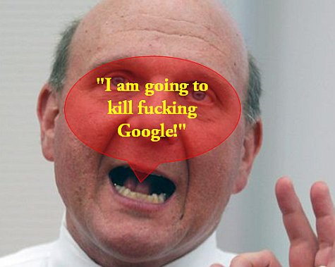 Steve Ballmer about Google