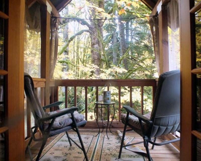 romantic cabin Washington State