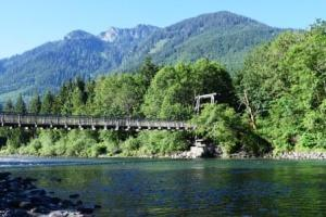Skykomish River Washington