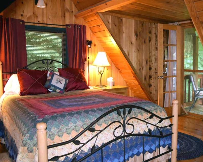 in mountains cozy is washington deck to lovers cozycabins virginia for cabins rent cabin
