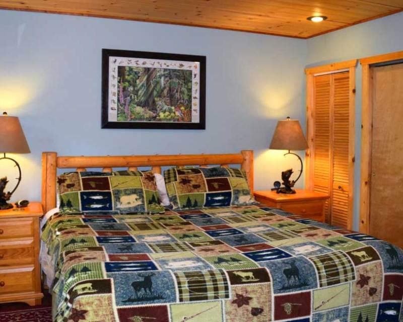 Skykomish River cabin