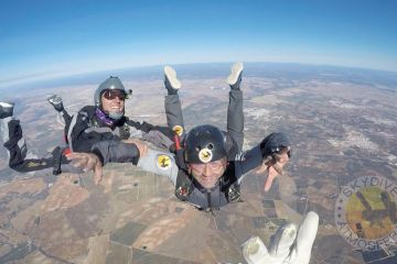 INTRO AFF Skydive