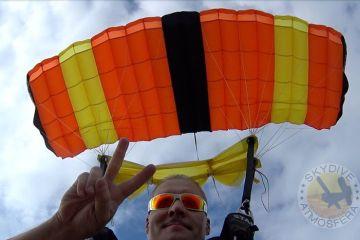 skydive atmosphere skydive spain course aff tandem license jumping in spain 0008