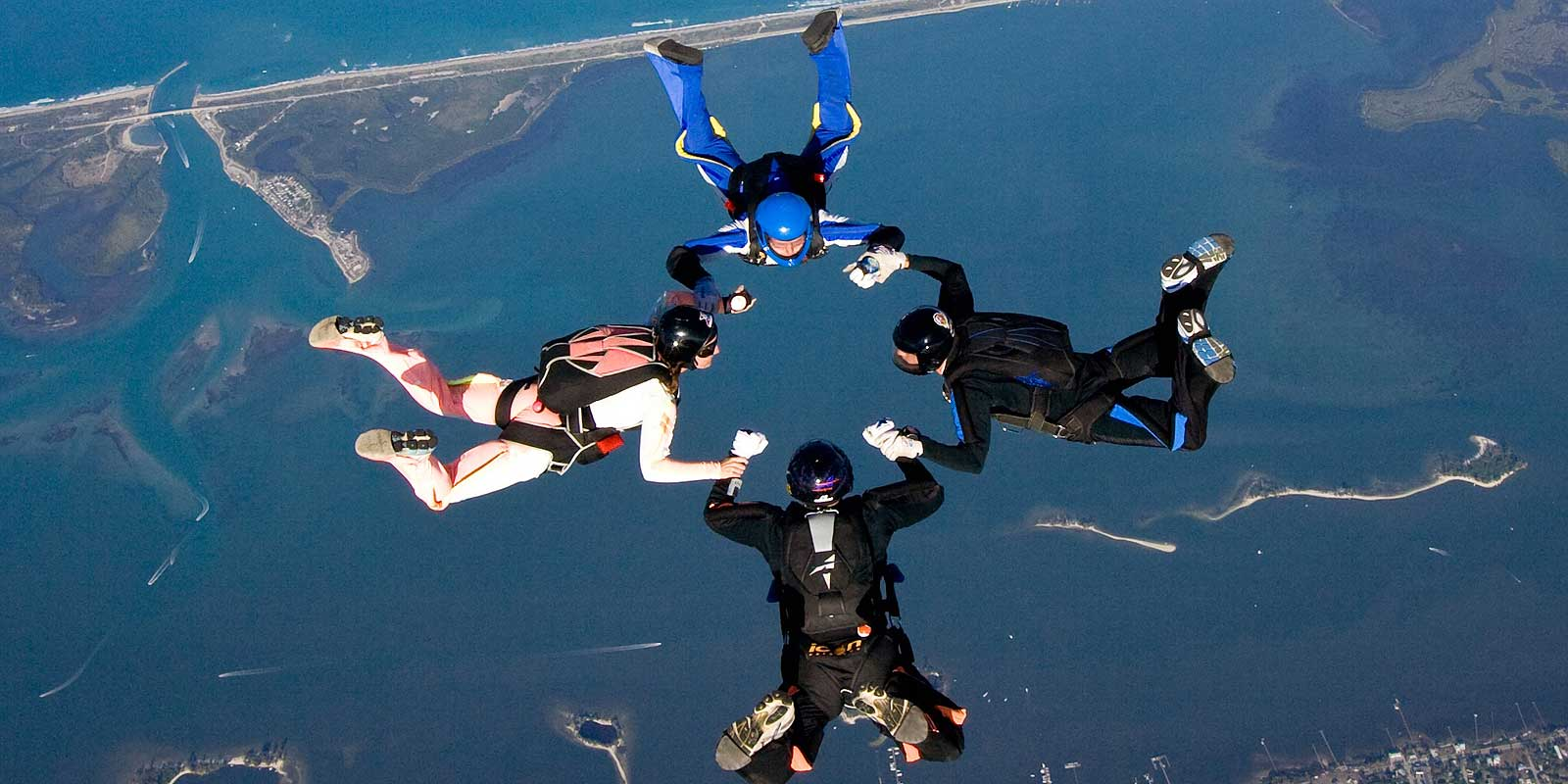 Experienced Skydivers