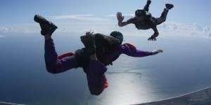 AFF Student Skydive