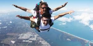 Tandem Skydiver