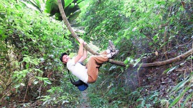 Climbing in the Doi Suthep Jungle