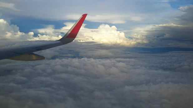 View from Plane to Bangkok