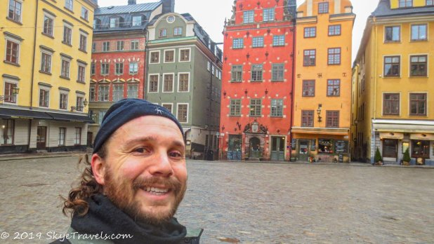 Selfie in Great Square #2