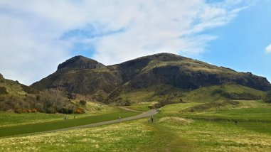 Holyrood Park West Entrance