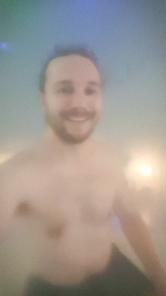 Selfie in Thermae Spa Sauna