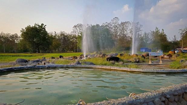 Sankhanpang Hot Springs Geyser and Egg Pools