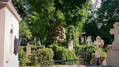 Mountain Crypt in Bellu Cemetery