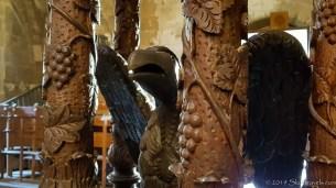 Bellapais Monastery Interior Sculpture