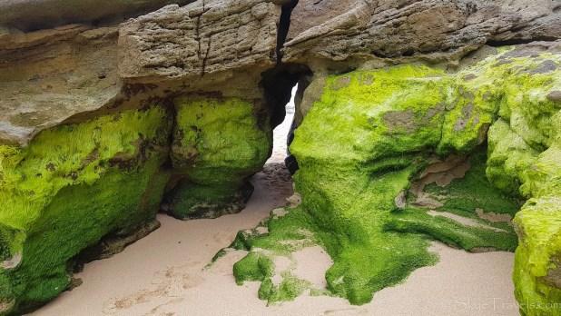 Hole in Rock to Private Beach in Santa Cruz