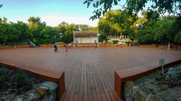 Green Theater in Tarasa Shevchenka Park