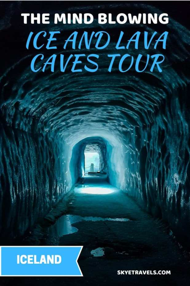 Into Ice and Lava Caves Tour Pin