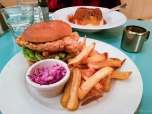 MUMs Comfrot Food Chicken Burger #3