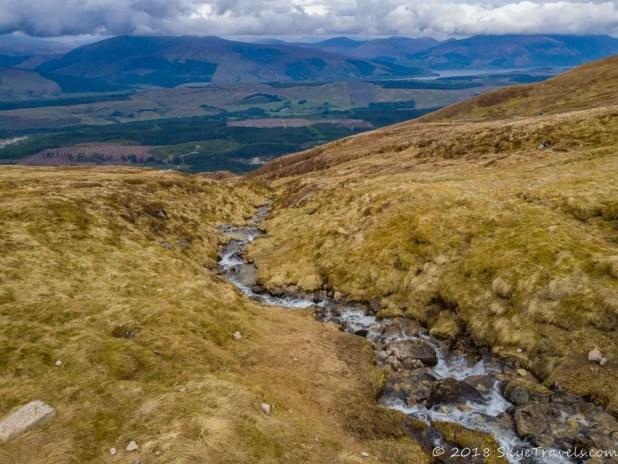 Stream at Nevis Range