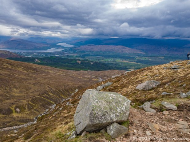 View from Meall Beag at Nevis Range