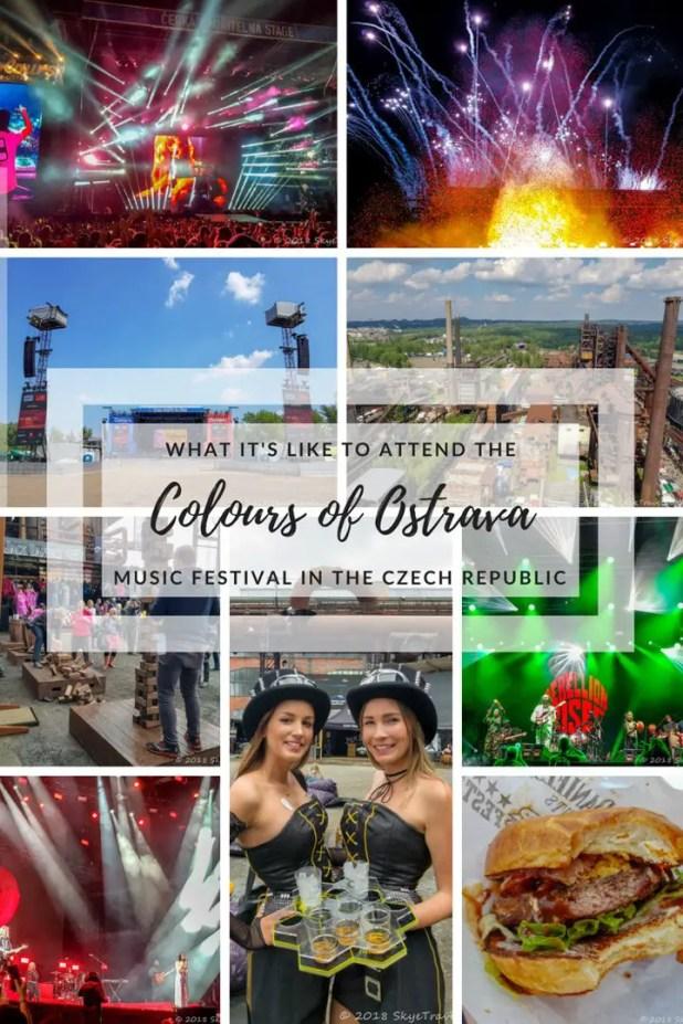 Colours of Ostrava Pin
