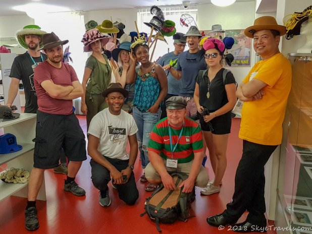 Group Photo at Hat Museum