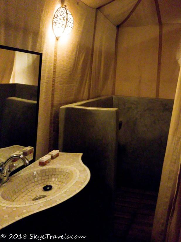 African Desert Safari Bathroom