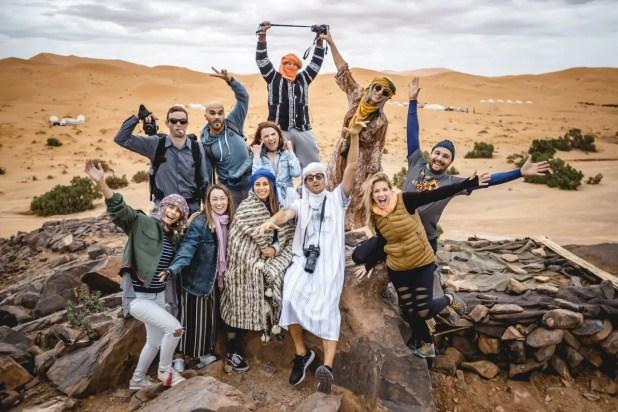 African Desert Safari Group