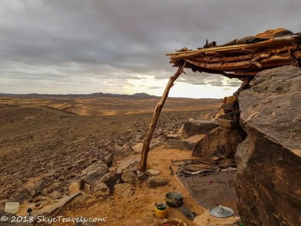 African Desert Safari View