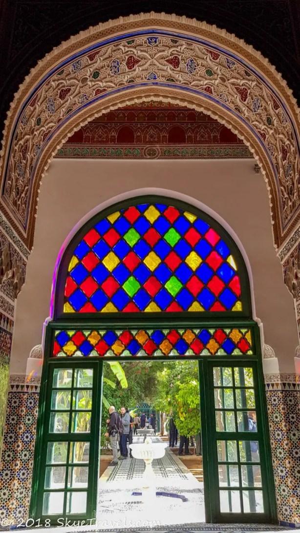 Bahia Palace Stained Glass