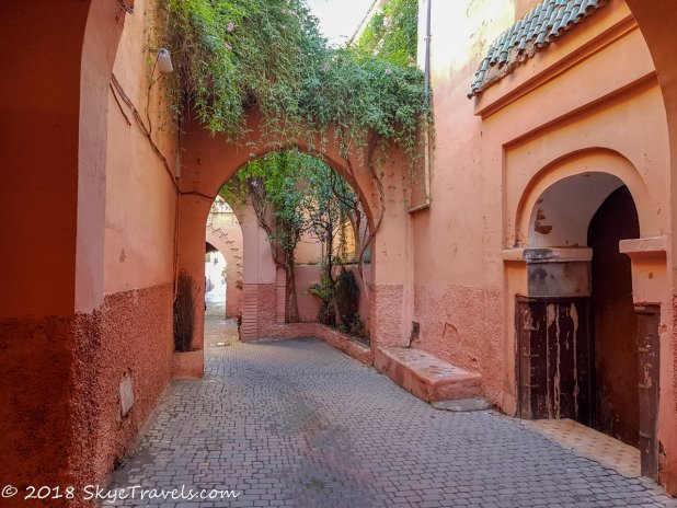 Marrakech Medina Street